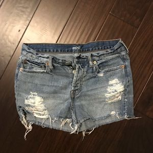 BDG Tomgirl Denim Shorts Midrise